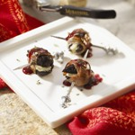 Prosciutto-Wrapped Figs With Blue Cheese Recipe