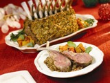 Pecan Crusted Rack of Lamb
