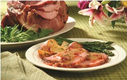 Roasted Ham Saltimbocca
