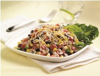 Spicy Barley and Black Bean Salad
