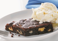 Rich and Chewy Chocolate Brownie