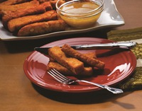 Willow's Chickpea Fries with Orange Preserved Lemon Dipping Sauce