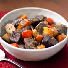 Hearty Beef Stew with Roasted Vegetables