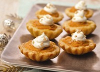 Pumpkin and Maple Syrup Mini Tart